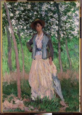 Obraz Claude Monet - Suzanne Hoschedé