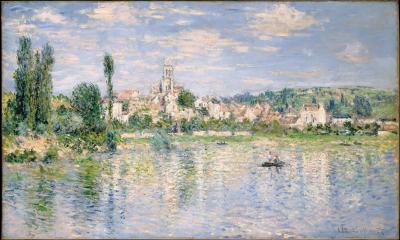 Obraz Claude Monet - Vétheuil latem