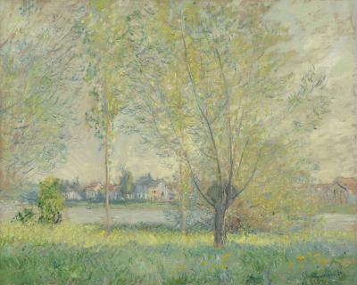 Obraz Claude Monet - Wierzby
