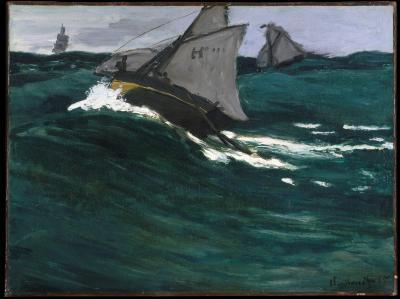 Obraz Claude Monet - Zielona fala