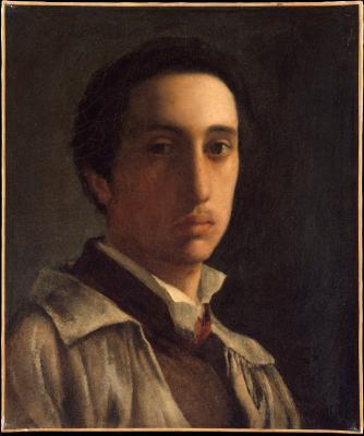 Obraz Edgar Degas - Autoportret