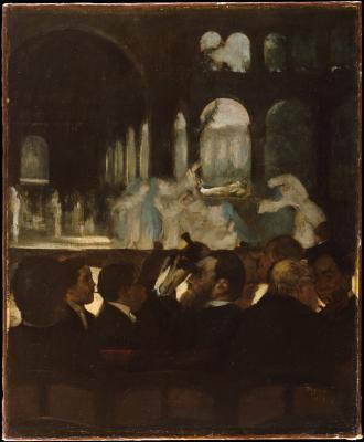 Obraz Edgar Degas - Balet z opery Robert Diabeł