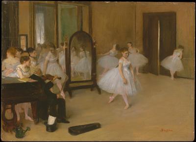 Obraz Edgar Degas - Klasa tańca