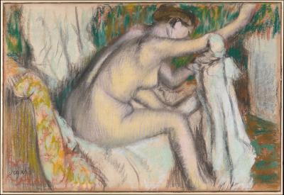 Obraz Edgar Degas - Kobieta myjąca się