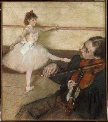 Obraz Edgar Degas - Lekcja tańca