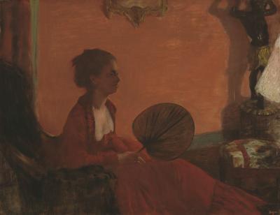 Obraz Edgar Degas - Madame Camus