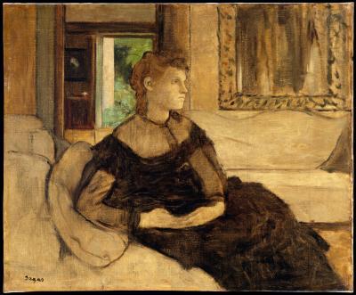 Obraz Edgar Degas - Madame Théodore Gobillard