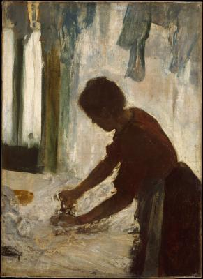 Obraz Edgar Degas - Prasująca kobieta