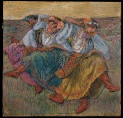 Obraz Edgar Degas - Rosyjskie tancerki