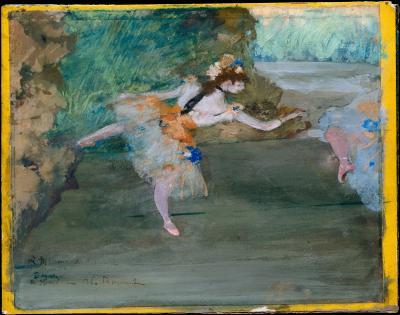 Obraz Edgar Degas - Tancerka na scenie