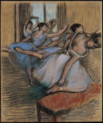 Obraz Edgar Degas - Tancerki