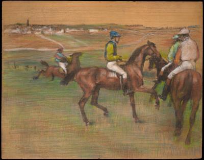 Obraz Edgar Degas - Wyścigi konne