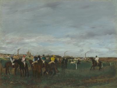 Obraz Edgar Degas - Wyścigi