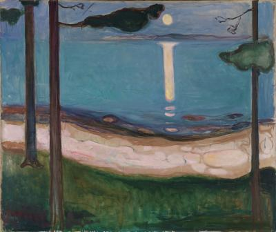 Obraz Edvard Munch - Blask Księżyca