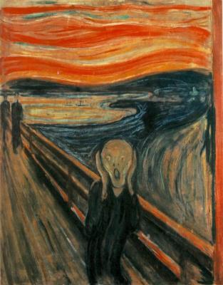 Obraz Edvard Munch - Krzyk
