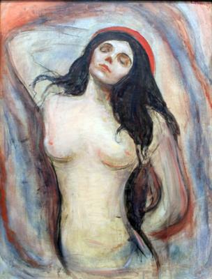 Obraz Edvard Munch - Madonna