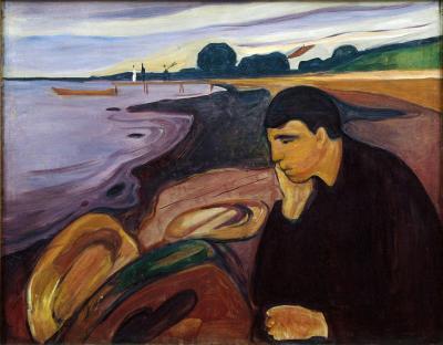 Obraz Edvard Munch - Melancholia