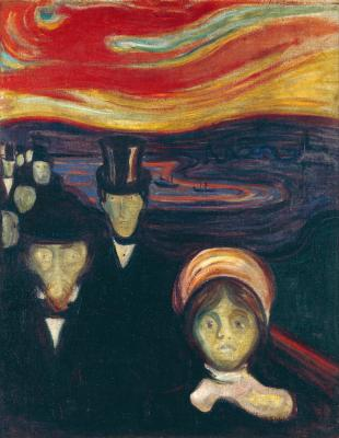 Obraz Edvard Munch - Niepokój