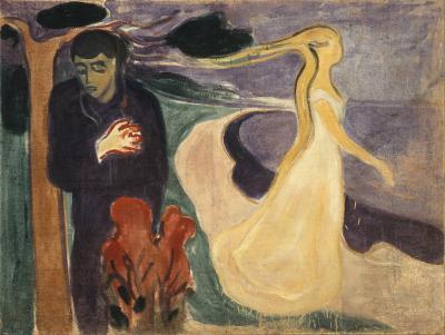 Obraz Edvard Munch - Separacja