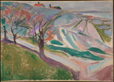 Obraz Edvard Munch- Krajobraz