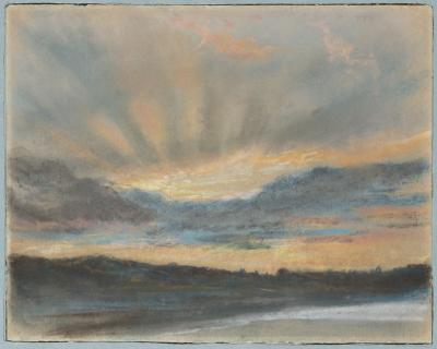 Obraz Eugène Delacroix - Zachód słońca
