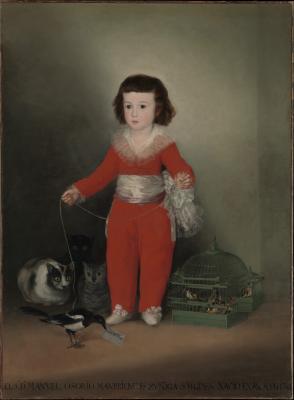 Obraz Francisco Goya - Manuel Osorio Manrique de Zuñiga