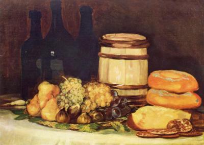 Obraz Francisco Goya - Martwa natura z owocami