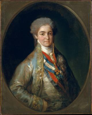 Obraz Francisco Goya - Portret Ferdynanda VII