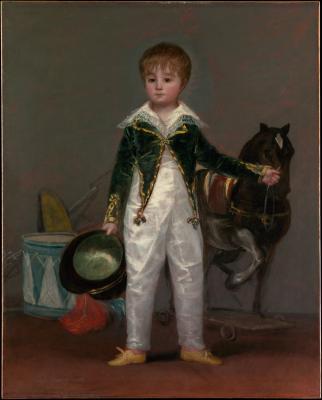 Obraz Francisco Goya - Portret José Costa y Bonells