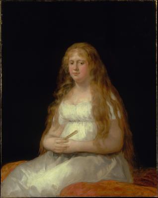 Obraz Francisco Goya - Portret Josefy de Castilla Portugal y van Asbrock de Garcini