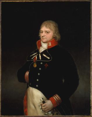 Obraz Francisco Goya - Portret. Ignacio Garcini y Queralt