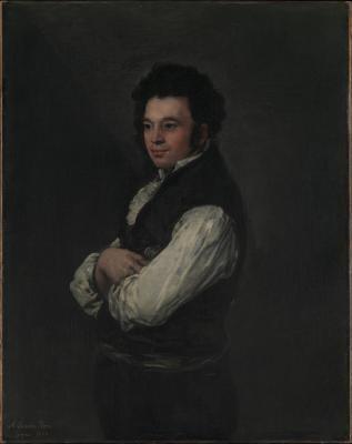 Obraz Francisco Goya - Portret. Tiburcio Pérez y Cuervo