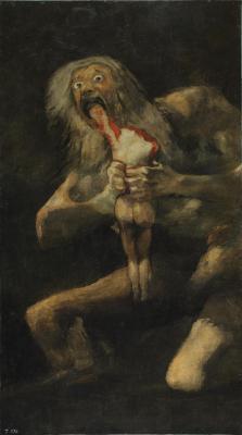 Obraz Francisco Goya - Saturn pożerający własne dzieci