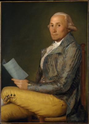Obraz Francisco Goya - Sebastián Martínez y Pérez