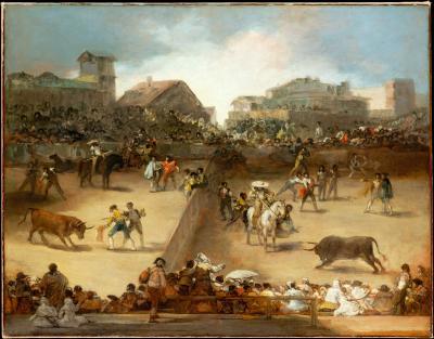 Obraz Francisco Goya - Walka byków