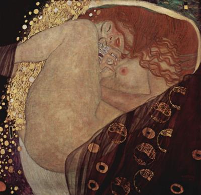 Obraz Gustav Klimt - Danae