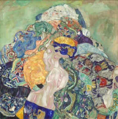 Obraz Gustav Klimt - Dziecko