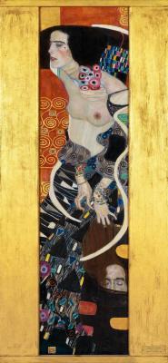 Obraz Gustav Klimt - Judyta