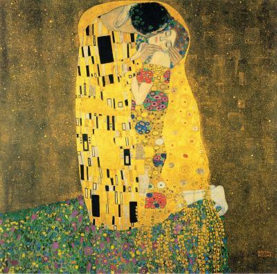 Obraz Gustav Klimt - Pocałunek