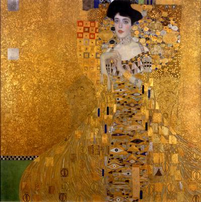 Obraz Gustav Klimt - Portret Adeli Bloch-Bauer