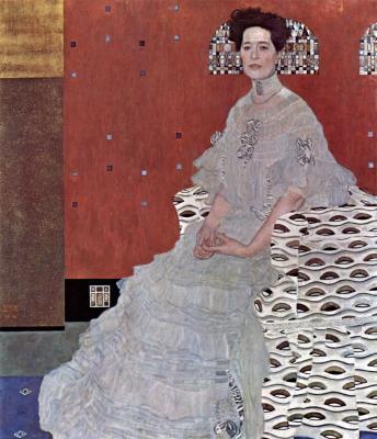 Obraz Gustav Klimt - Portret Fritzy Riedler