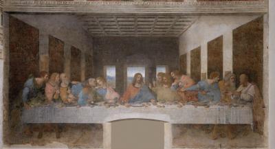 Obraz Leonardo da Vinci - Ostatnia Wieczerza