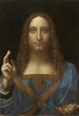 Obraz Leonardo da Vinci - Zbawiciel świata