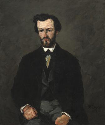 Obraz Paul Cezanne - Portret Antony'ego Valabrègue