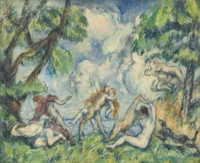 Obraz Paul Cezanne - Bachanalia. Bitwa miłości