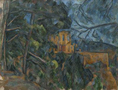 Obraz Paul Cezanne - Château Noir