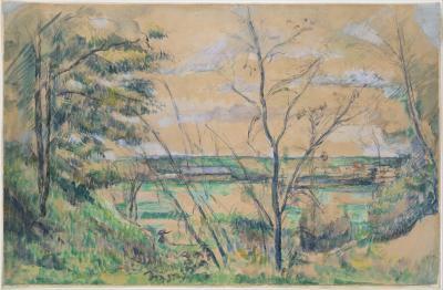 Obraz Paul Cezanne - Dolina rzeki Oise