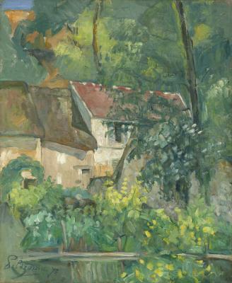 Obraz Paul Cezanne - Dom Père Lacroix