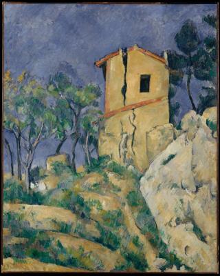Obraz Paul Cezanne - Dom z popękanymi ścianami