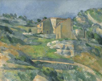 Obraz Paul Cezanne - Domy w Prowansji w pobliżu L'Estaque